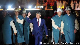 Алмазбек Атамбаев на Играх кочевников
