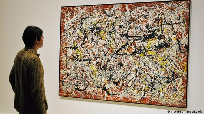 Jackson Pollock, ''Mural on Indian Red Ground' Copyright: picture-alliance/Kyodo