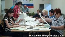 Ukraine Krim Duma Wahlen