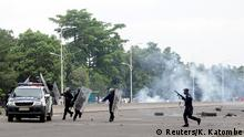 Demokratische Republik Kongo Protest Opposition in Kinshasa