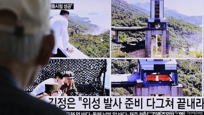 Coreia do Norte testa novo motor de foguete espacial