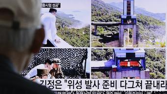 Nordkorea testet Antrieb für Satellitenrakete
