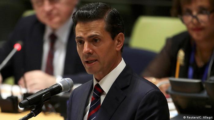 USA Rede Enrique Peña Nieto in New York (Reuters/C. Allegri)
