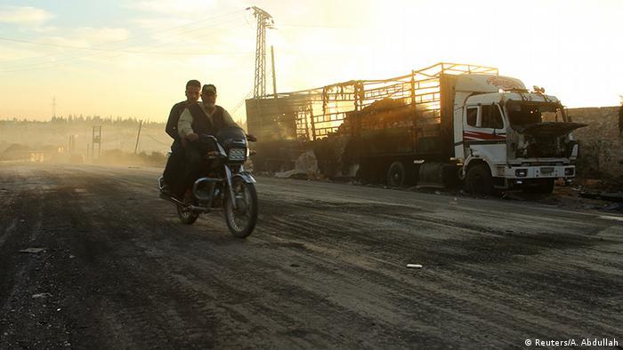 Urum al-Kubra, no oeste de Aleppo