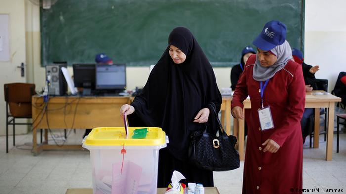 من الأرشيف- صورة من الانتخابات البرلمانية في الأردن