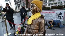 Südkorea Trostfrauen-Statue in Seoul