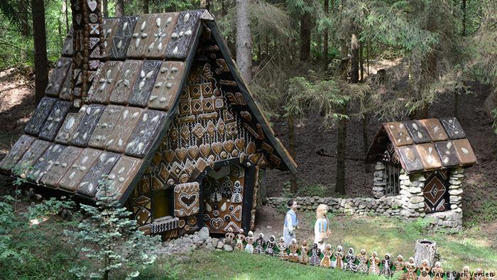 Casa de Joãozinho e Mariazinha no Magic Park em Verden