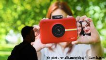 Deutschland Fotomesse photokina 2016 in Köln - Polaroid