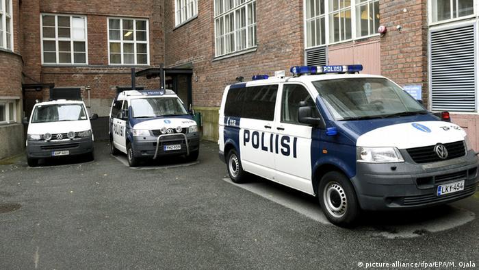 Полицейские автомобили в Финляндии (фото из архива)