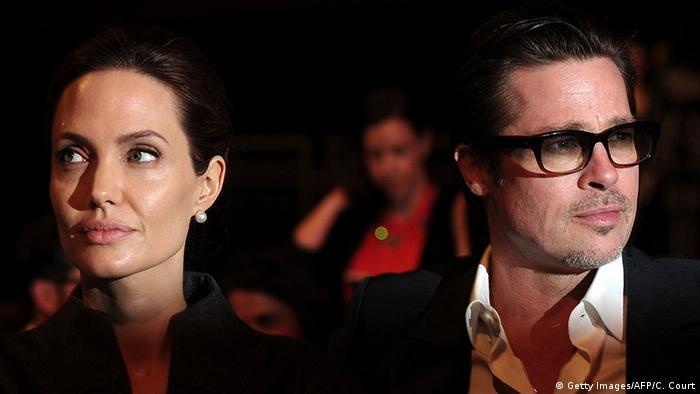 Angelina Jolie Brad Pitt in London