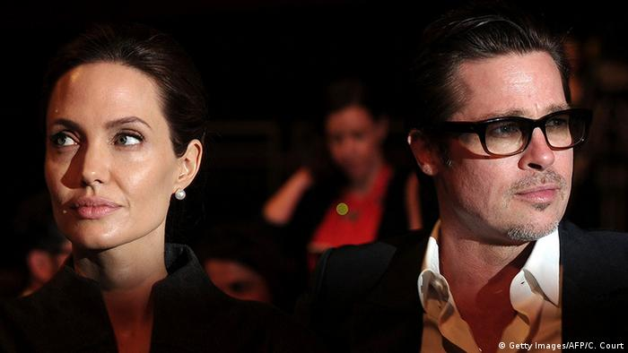 London Angelina Jolie Brad Pitt (Getty Images/AFP/C. Court)