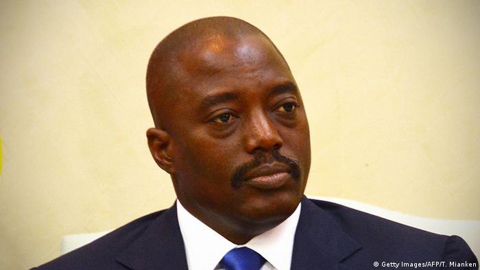 Joseph Kabila Präsident Demokratische Republik Kongo (Getty Images/AFP/T. Mianken)