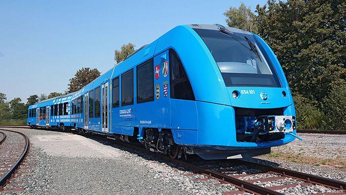 Поезд на водородных топливных элементах Coradia iLint