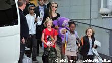 Angelina Jolie mit Kindern