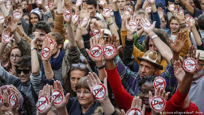 Brüssel Anti TTIP CETA Demonstration