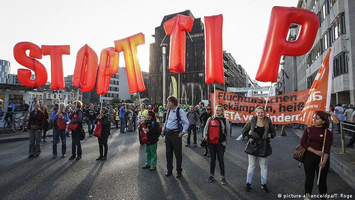 Brussels Anti TTIP CETA Demonstration