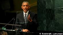 New York UN Generalversammlung Rede Obama