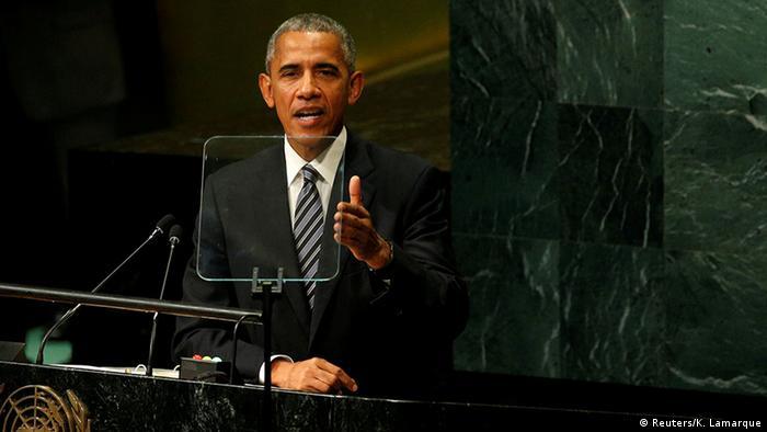 Барак Обама, 20 сентября 2016 г.