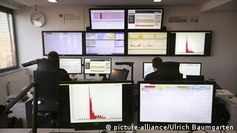 Lagezentrum im Bundesamt für Sicherheit in der Informationstechnik BSI