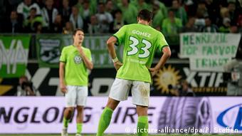 Bundesliga Wolfsburg vs Dortmund Aubameyang (picture-alliance/dpa/P. Steffen)
