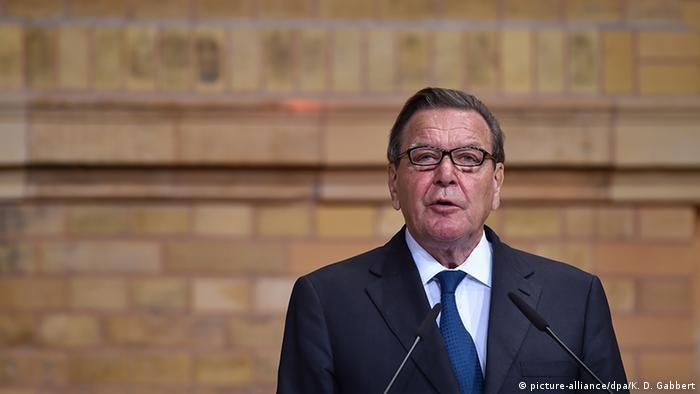 Gerhard Schröder, Bundeskanzler von 1998 bis 2005 (Foto: dpa)