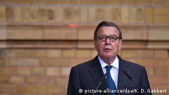 ehemaliger Bundeskanzler Gerhard Schröder