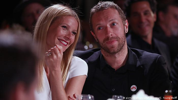USA Gwyneth Paltrow und Chris Martin