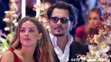 USA Johnny Depp und Amber Heard