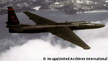 The Lockheed U-2, nicknamed Dragon Lady , is a single-engine, high-altitude reconnaissance aircraft operated by the United States Air Force (USAF) and previously flown by the Central Intelligence Agency (CIA). It provides day and night, very high-altitude (70,000 feet / 21,000 m), all-weather intelligence gathering WHA UnitedArchivesWHA_033_0434 +++ (C) Imago/United Archives International