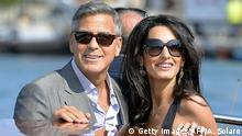 USA Venedig Hochzeit George Clooney und Amal Alamuddin