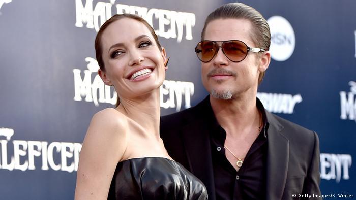 USA Brad Pitt and Angelina Jolie