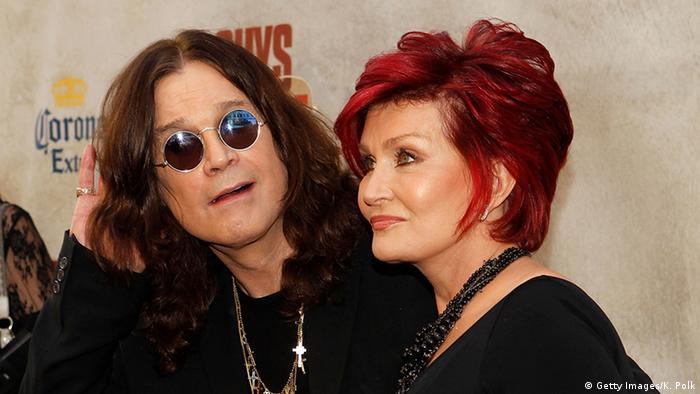 USA Ozzy und Sharon Osbourne