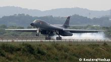 Südkorea U.S. Air Force B-1B Langstreckenbomber (Reuters/Yonhap)