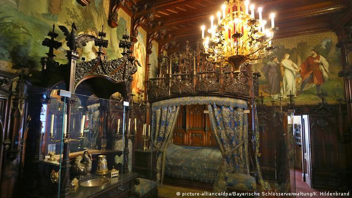 La habitación del rey Luis II