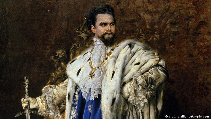 Gabriel Schachinger Portrait König Ludwig II.