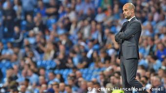 Pep Guardiola UEFA Champions League (picture-alliance/dpa/P. Powell)