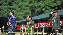 Nepal Prozession Jahrestag Constitution Day