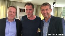 Hans Christoph von Bock, Sebastian Koch und Scott Roxborough