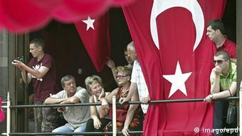 Serbien türkisches Kulturzentrum in Novi Pazar