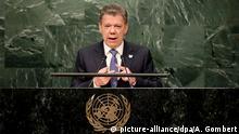 USA Juan Manuel Santos Beim Gipfel zu Flüchtlinge und Einwanderer der UN