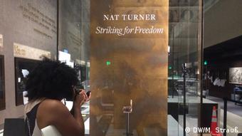 Nat Turner's Bible at the National Museum of African American History and Culture, Copyright: DW/Marina Strauß