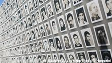 Hundreds of representatives of the Iranian diaspora from Europe gather on the 3rd and 4th of September for a special two-day conference, to launch a general mobilization demanding justice for victims of the 1988 massacre and a halt to executions in Iran, on September 3, 2016. (Photo by Siavosh Hosseini/NurPhoto) | Keine Weitergabe an Wiederverkäufer. (c) picture-alliance/NurPhoto/S. Hosseini