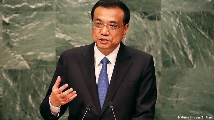 New York UN Sicherheitsrat Versammlung Li Keqiang (Getty Images/S. Platt)