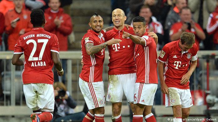 Bundesliga FC Bayern München - Hertha BSC Berlin