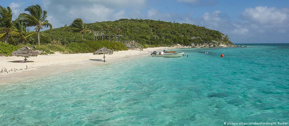Bahamas são um conhecido paraíso fiscal