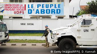 Demokratische Republik Kongo - Ausschreitungen in Kinshasa (Getty Images/AFP/J. D. Kannah)