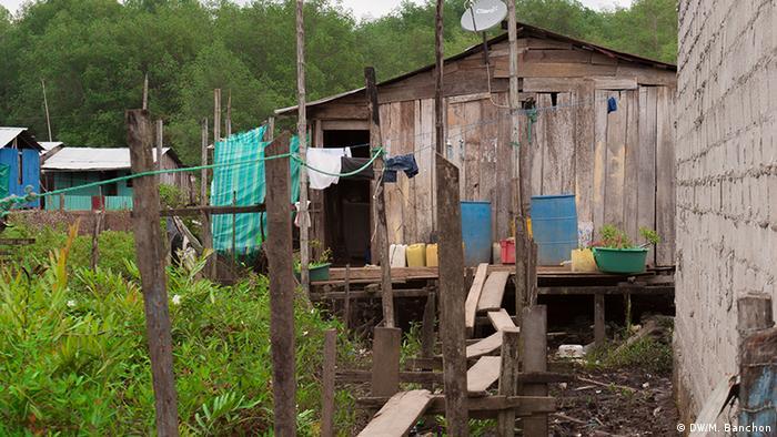Kolumbianische Flüchtlinge in Ecuador