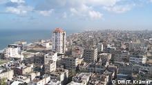 Stadtansicht Gaza Stadt. In Gaza-Stadt liefen die Vorbereitungen zu den ersten Kommunalwahlen seit zehn Jahren. Quelle: Tania Krämer/DW Aufnahmedatum: 03/2015 +++ (C) DW/T. Krämer