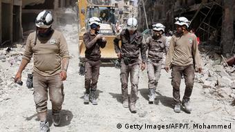 В місті Сармін вбито сімох членів Білих шоломів
