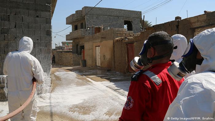 Irak IS-Angriff mit Senfgas Chemiewaffen
